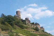 Mosel: Burg Thurant - Foto: Stefan Frerichs / RheinWanderer.de