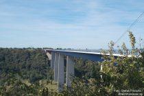 Mosel: Moseltalbrücke der A 61 - Foto: Stefan Frerichs / RheinWanderer.de