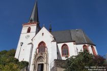 Mosel: Sankt-Maximin-Kirche in Klotten - Foto: Stefan Frerichs / RheinWanderer.de