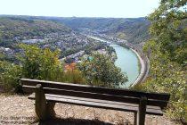 Mosel: Rabenlei-Blick auf Cochem - Foto: Stefan Frerichs / RheinWanderer.de