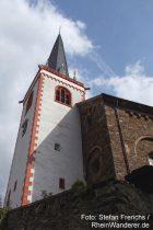 Mosel: Sankt-Margaretha-Kirche in Bruttig - Foto: Stefan Frerichs / RheinWanderer.de