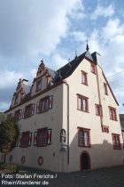 Mosel: Schuncksches Haus in Bruttig - Foto: Stefan Frerichs / RheinWanderer.de