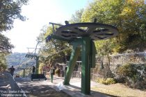 Mosel: Bergstation der Sesselbahn von Cochem - Foto: Stefan Frerichs / RheinWanderer.de
