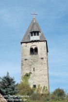 Mosel: Glockenturm in Kobern - Foto: Stefan Frerichs / RheinWanderer.de