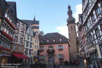 Mosel: Marktplatz der Altstadt von Cochem - Foto: Stefan Frerichs / RheinWanderer.de