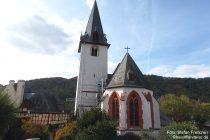 Mosel: Maria-Himmelfahrt-Kirche in Fankel - Foto: Stefan Frerichs / RheinWanderer.de