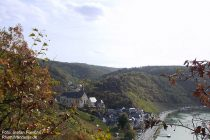 Mosel: Blick auf Beilstein - Foto: Stefan Frerichs / RheinWanderer.de