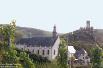 Mosel: Karmeliterkloster von Beilstein - Foto: Stefan Frerichs / RheinWanderer.de