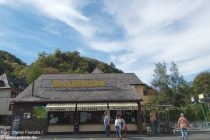 Mosel: Talstation der Sesselbahn von Cochem - Foto: Stefan Frerichs / RheinWanderer.de