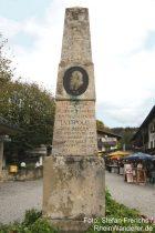 Berchtesgadener Land: Luitpold-Denkmal in Königssee - Foto: Stefan Frerichs / RheinWanderer.de