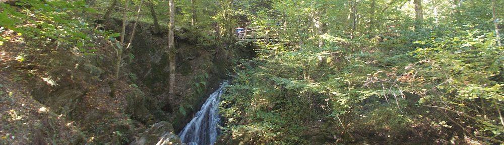 "Eifel: Wasserfall ""Die Rausch"" im Endertbachtal - Foto: Stefan Frerichs / RheinWanderer.de"