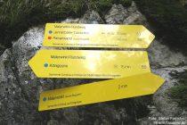 Berchtesgadener Land: Malerwinkel-Rundwegweiser - Foto: Stefan Frerichs / RheinWanderer.de