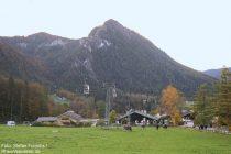 Berchtesgadener Land: Blick auf die Jennerbahn-Talstation bei Königssee - Foto: Stefan Frerichs / RheinWanderer.de