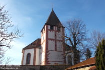 Pfälzerwald: Evangelische Lambertskirche in Bockenheim an der Weinstraße - Foto: Stefan Frerichs / RheinWanderer.de