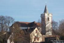 Pfälzerwald: Evangelische Martinskirche in Bockenheim an der Weinstraße - Foto: Stefan Frerichs / RheinWanderer.de
