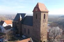 Pfälzerwald: Sankt-Nikolaus-Kirche in Neuleiningen - Foto: Stefan Frerichs / RheinWanderer.de