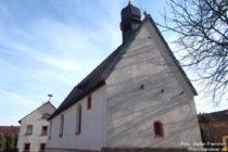 Pfälzerwald: Sankt-Valentin-Kirche in Mertesheim - Foto: Stefan Frerichs / RheinWanderer.de