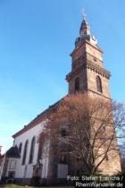 Pfälzerwald: Sankt-Martin-Kirche in Grünstadt - Foto: Stefan Frerichs / RheinWanderer.de