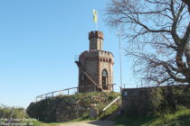 Pfälzerwald: Flaggenturm bei Bad Dürkheim - Foto: Stefan Frerichs / RheinWanderer.de