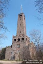 Pfälzerwald: Bismarckturm auf dem Peterskopf - Foto: Stefan Frerichs / RheinWanderer.de