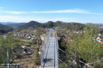 Pfälzerwald: Aussichtspunkt Hahnfels bei Erfweiler - Foto: Stefan Frerichs / RheinWanderer.de