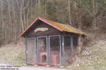 Pfälzerwald: rekonstruierter Brennofen einer ehemaligen Ziegelhütte - Foto: Stefan Frerichs / RheinWanderer.de
