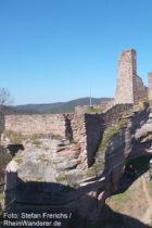Pfälzerwald: Burg Grafendahn - Foto: Stefan Frerichs / RheinWanderer.de