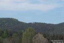 Pfälzerwald: Blick auf den Napoleonsfelsen bei Bruchweiler-Bärenbach - Foto: Stefan Frerichs / RheinWanderer.de