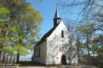 Pfälzerwald: Michaelskapelle bei Deidesheim - Foto: Stefan Frerichs / RheinWanderer.de