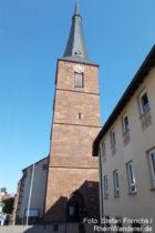 Pfälzerwald: Sankt-Ulrich-Kirche von Deidesheim - Foto: Stefan Frerichs / RheinWanderer.de