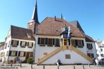 Pfälzerwald: Rathaus von Deidesheim - Foto: Stefan Frerichs / RheinWanderer.de
