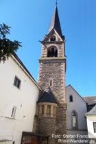Mittelrhein: Kirche des früheren Kloster Kamp - Foto: Stefan Frerichs / RheinWanderer.de