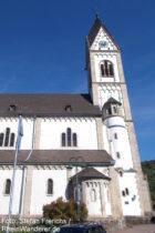 Mittelrhein: Sankt-Nikolaus-Kirche in Kamp - Foto: Stefan Frerichs / RheinWanderer.de