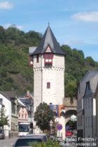 Mittelrhein: Obertor in Braubach - Foto: Stefan Frerichs / RheinWanderer.de