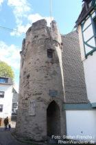 Mittelrhein: Pankgrafenturm in Braubach - Foto: Stefan Frerichs / RheinWanderer.de