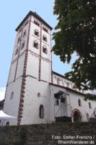 Mittelrhein: Johanniskirche in Niederlahnstein - Foto: Stefan Frerichs / RheinWanderer.de