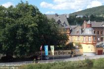 Mittelrhein: Wirtshaus an der Lahn in Niederlahnstein - Foto: Stefan Frerichs / RheinWanderer.de