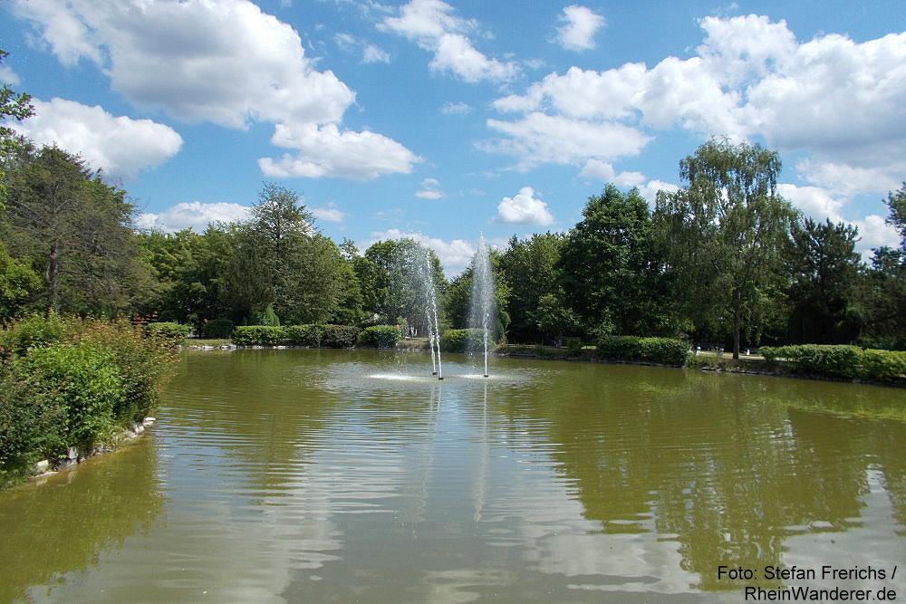Mittelrhein: Ernst-Wagner-Park von Lahnstein auf der Höhe - Foto: Stefan Frerichs / RheinWanderer.de