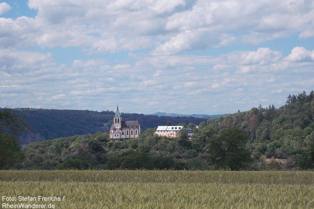 Mittelrhein: Blick auf die Allerheiligenbergkapelle - Foto: Stefan Frerichs / RheinWanderer.de