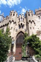 Mittelrhein: Inneres Tor von Burg Lahneck - Foto: Stefan Frerichs / RheinWanderer.de
