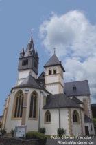 Mittelrhein: Sankt-Martin-Kirche in Oberlahnstein - Foto: Stefan Frerichs / RheinWanderer.de