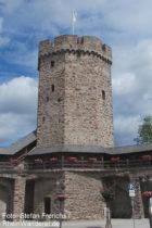 Mittelrhein: Hexenturm in Oberlahnstein - Foto: Stefan Frerichs / RheinWanderer.de
