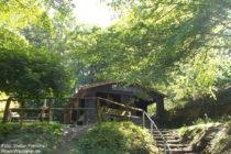 Mittelrhein: Schutzhütte oberhalb der Ruppertsklamm - Foto: Stefan Frerichs / RheinWanderer.de