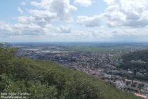 Pfälzerwald: Bergstein-Blick auf Neustadt - Foto: Stefan Frerichs / RheinWanderer.de