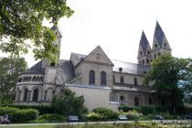 Mittelrhein: Sankt-Kastor-Basilika in Koblenz - Foto: Stefan Frerichs / RheinWanderer.de