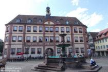 Pfälzerwald: Stadthaus am Marktplatz in Neustadt - Foto: Stefan Frerichs / RheinWanderer.de