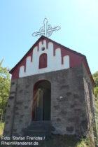 Mosel: Kapelle am Wahlberg bei Briedern - Foto: Stefan Frerichs / RheinWanderer.de