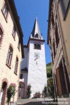 Mosel: Sankt-Nikolaus-Kirche in Mesenich - Foto: Stefan Frerichs / RheinWanderer.de