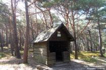Pfälzerwald: Sommerberg-Schutzhütte - Foto: Stefan Frerichs / RheinWanderer.de