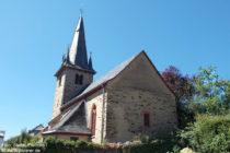 Mosel: Sankt-Agathen-Kirche in Nehren - Foto: Stefan Frerichs / RheinWanderer.de